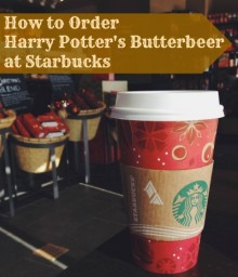How to Order Harry Potter's Butterbeer at Starbucks