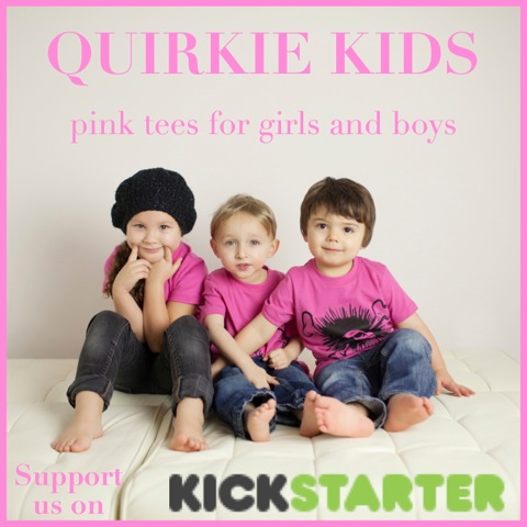 Quirkie Kids: Pink Shirts for Boys and Girls