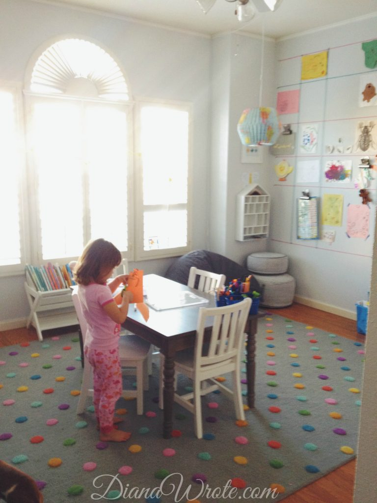 Land of Nod Homeschool Room