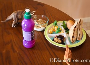 Themed Lunches for Kids at Home with Fruit Shoot
