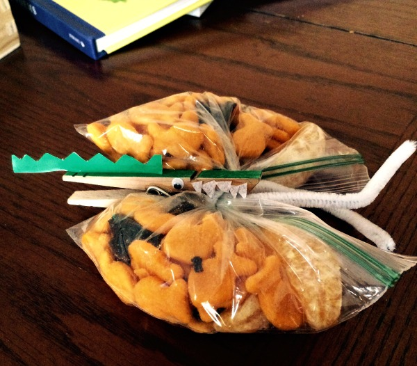 Goldfish Crackers Snack Ideas