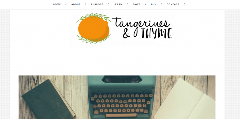 Tangerines and Thyme