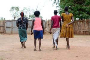 Sudanese Women Walking
